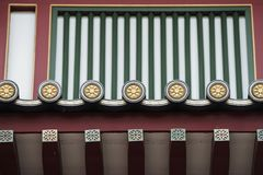 Temple roof ornament Royalty Free Stock Photos