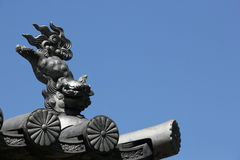 Temple Roof Ornament Royalty Free Stock Photo