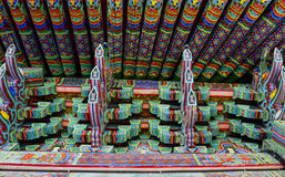 Temple roof Stock Image