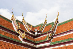 Temple roof Royalty Free Stock Photos