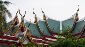 Temple roof. Temple roof style of Thailand Royalty Free Stock Photo