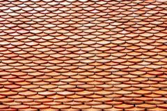Temple roof texture background ,Thailand Stock Images