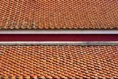 Temple roof tile Stock Photos