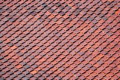 Temple roof tiles pattern Royalty Free Stock Photo