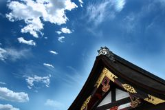 Temple roof top Royalty Free Stock Photos