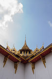 Temple roof at Wat Phra Kaew Stock Photography