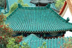 Temple Roofs Royalty Free Stock Photo