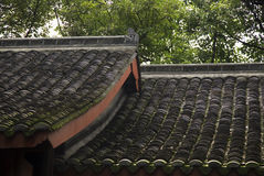 Temple Roofs Buddhist Temple China Stock Images