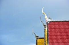 Temple roofs. At Wat Churamanee Phitsanulok/Thailand,Asia Royalty Free Stock Photos