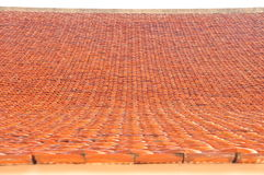 Temple rooftiles. In Phayao province Thailand, Asia royalty free stock image
