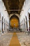 Temple roumain antique, chrétien, Italie photographie stock libre de droits