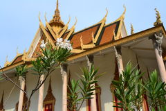 Temple in Royal Palace. Phnom Penh, Cambodia Stock Image