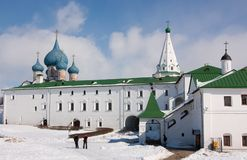 Temple Rozhdestvenskiy  (1222-1225) Royalty Free Stock Images