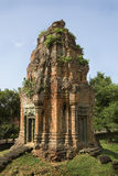 Temple Ruin. A tower in an Angkor Temple Ruin Stock Image