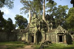 Temple Ruin. Entrance to a Temple Ruin Royalty Free Stock Photography