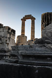Temple Ruin Columns Royalty Free Stock Photo