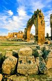 Temple Ruins Stock Photo