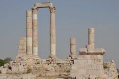 Temple Ruins, Amman Royalty Free Stock Photos
