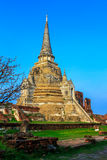 Temple ruins of Ayutthaya in Thailand Royalty Free Stock Images