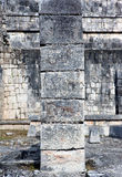 Temple ruins in Chichen Itza. Royalty Free Stock Image