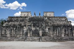 Temple ruins in Chichen Itza. Stock Image
