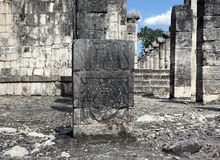 Temple ruins in Chichen Itza. Stock Photography