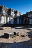 Temple Ruins Interior Royalty Free Stock Photography