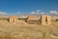 Temple ruins in Kyrgyzstan Royalty Free Stock Photos