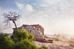 Temple ruins in Mamallapuram Stock Photos