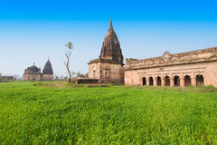 Temple ruins, Orchha Stock Images