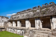 Temple ruins in Palenque Royalty Free Stock Photos
