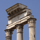 Temple Ruins, Rome Royalty Free Stock Photos