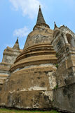 Temple Ruins, Ayutthaya Stock Photo