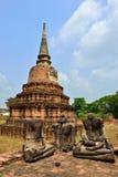 Temple Ruins, Ayutthaya Stock Photography