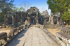 Temple ruins XII th Century , Siem Reap, Cambodia Royalty Free Stock Images