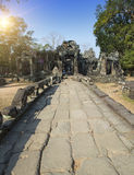 Temple ruins XII th Century , Siem Reap, Cambodia Royalty Free Stock Photo