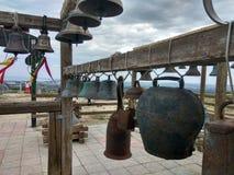 Temple russe des cloches d'église, Russie La photo est ajustée Photo d'art Image stock