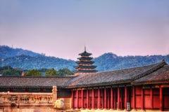Temple Séoul de Bongeunsa photographie stock libre de droits