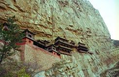 Temple s'arrêtant de Shanxi, Chine Photo stock