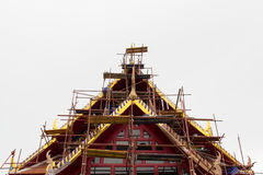 Temple's repairing Royalty Free Stock Image