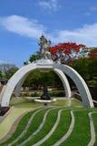 Temple sacré d'Uluwatu - île de Bali, Indonésie Photographie stock libre de droits