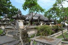 Temple sacré d'Uluwatu - île de Bali, Indonésie Images libres de droits