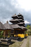 Temple sacré de Bessakih en île de Bali Photo stock