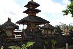 Temple sacré de Bessakih en île de Bali Photos libres de droits