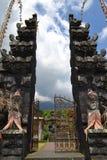 Temple sacré de Bessakih en île de Bali Images libres de droits