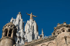 Temple of the Sacred Heart - Barcelona 1 Royalty Free Stock Images