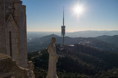 Temple of the Sacred Heart - Barcelona Royalty Free Stock Photo