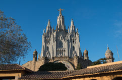 Temple of the Sacred Heart - Barcelona Stock Images