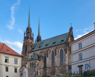 Temple sacred Peter and Pavel in Brno Stock Photo