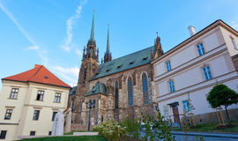Temple sacred Peter and Pavel in Brno Royalty Free Stock Photography